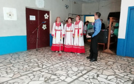 Батл чувашских народных песен