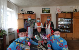 В гостях у аксакала чувашской литературы