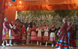 """Районный фольклорный фестиваль """"Фольклорная радуга"""""""