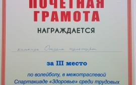 """Спартакиада """"Здоровье"""""""