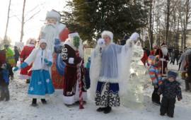 Вереница новогодних мероприятий в сельских домах культуры