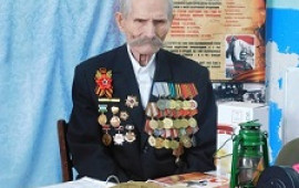 Ветеран войны-Романов Владимир Евстафьевич
