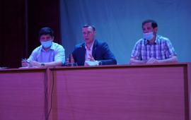 В районном дворце культуры обсудили вопросы вакцинации от короновирусной инфекции